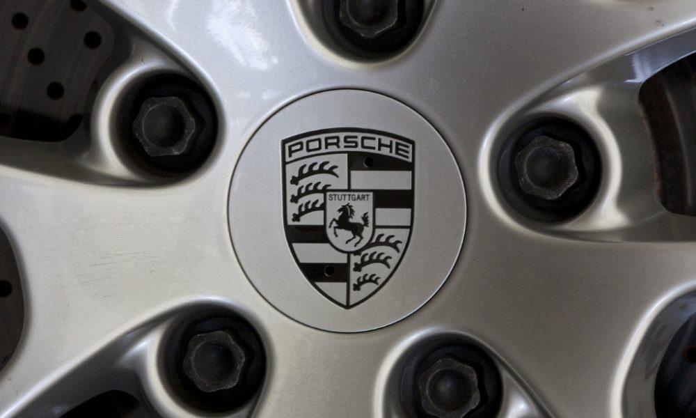 Rim of a Porsche's car