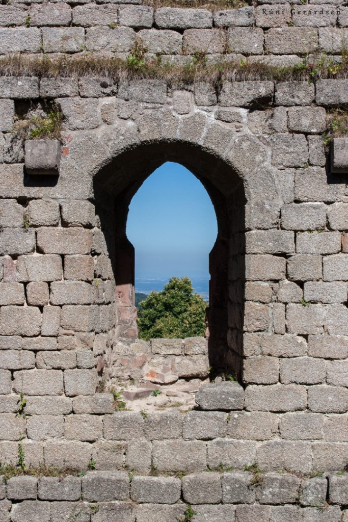 window of a castle